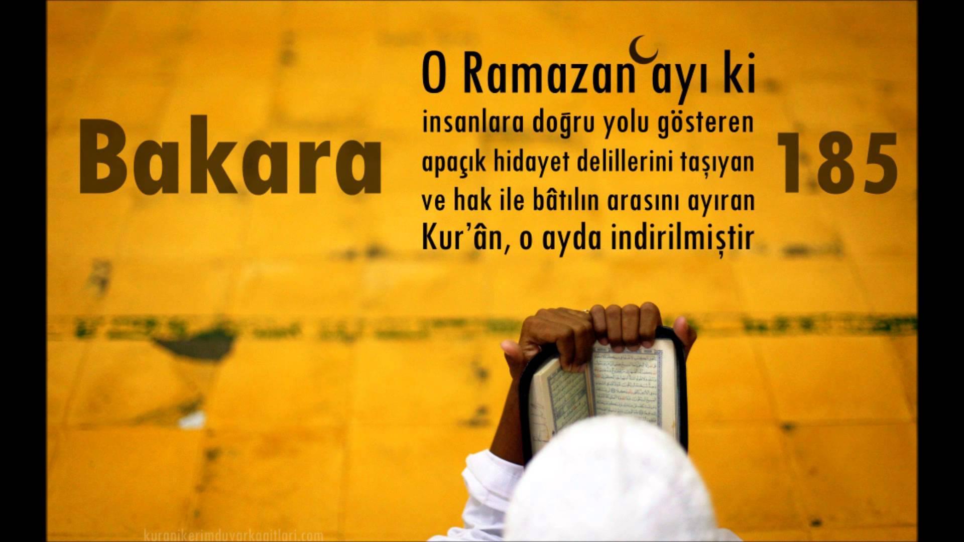 Mustafa Çelik: Hoşgeldin Ramazan Ayı